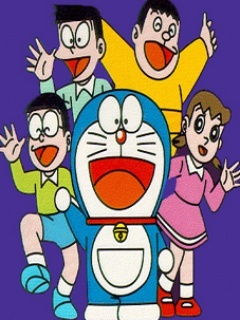 Doraemon And Friends Mobile Wallpaper
