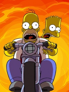 Simpson Movies Moto Mobile Wallpaper
