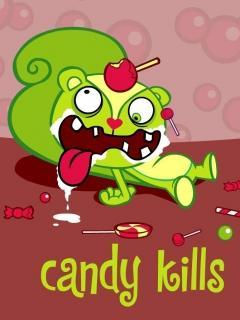 Candy Kills Mobile Wallpaper