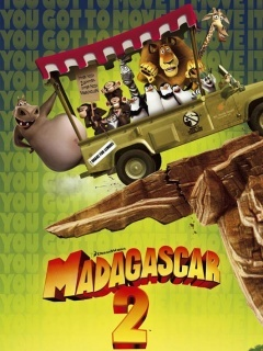 Madagascar 2 Mobile Wallpaper