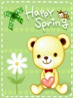 Happy Spring Mobile Wallpaper