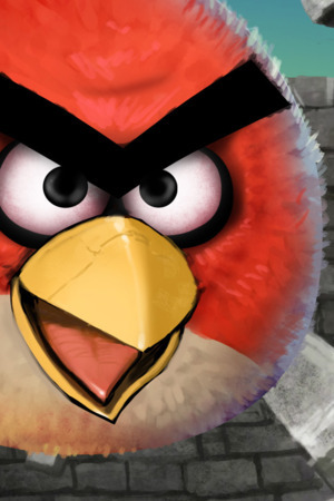 Angry Birds Cool Wallpaper Mobile Wallpaper