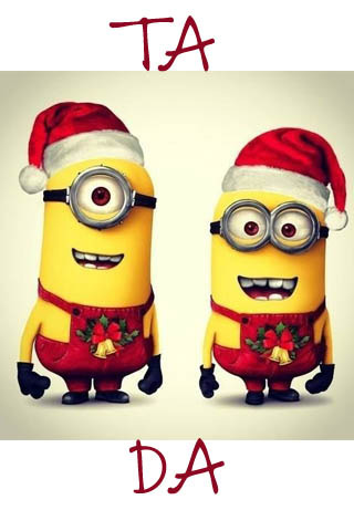 Minions Xmas Wallpaper Cute Mobile Wallpaper