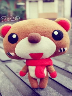 Cute Teddy Bear Mobile Wallpaper