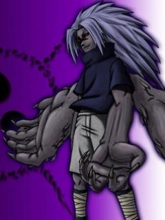 Demon Sasuke Mobile Wallpaper