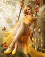 Fairy Girl Mobile Wallpaper