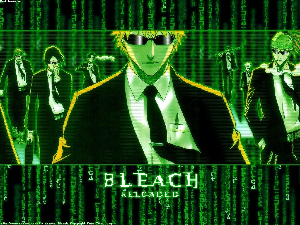 Bleach Matrix Mobile Wallpaper