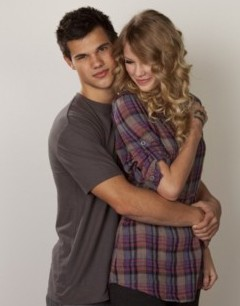 Taylor Lautner N Taylor Swift Mobile Wallpaper