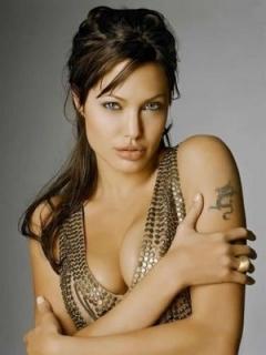 Very Hot Jolie Mobile Wallpaper