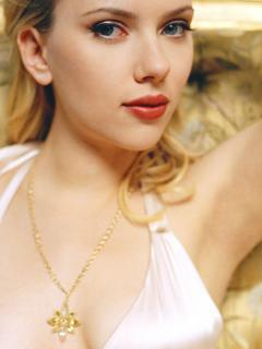 Scarlett Johansson Mobile Wallpaper