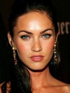 Megan Fox Makeup Mobile Wallpaper