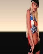 Paris Hilton 2 Mobile Wallpaper