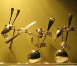 Musical Spoons Mobile Wallpaper