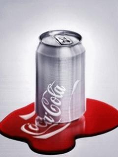 Animated Coke Mobile Wallpaper