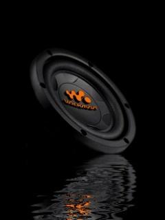 Animated Speaker Mobile Wallpaper