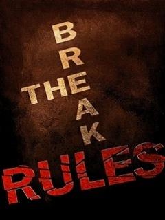 Black The Rules Mobile Wallpaper