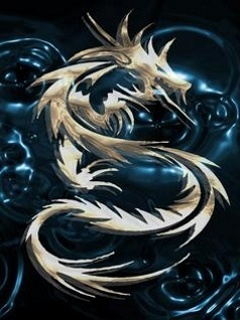 Dragon Logo Mobile Wallpaper