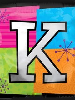 Letter K Mobile Wallpaper