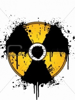 Nuclear Bomb Logo Mobile Wallpaper