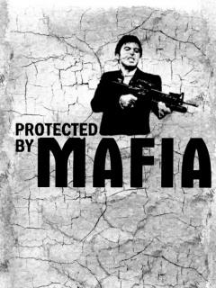 Protected By Mafia Mobile Wallpaper