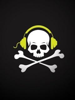 Dj Skull Mobile Wallpaper