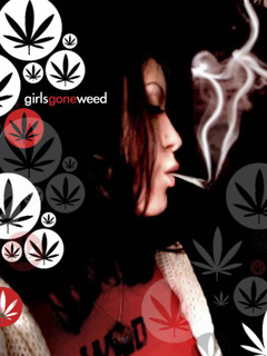 Girl Gone Weed Mobile Wallpaper