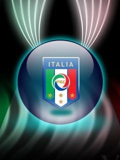 Italia Logo Mobile Wallpaper