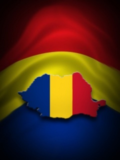 Romania Flag Mobile Wallpaper