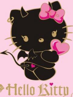 Devil Kitty Mobile Wallpaper