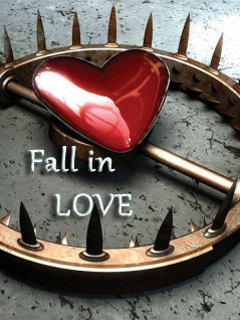 Fall In Love  Mobile Wallpaper