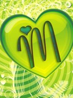 M Logo Wallpaper Mobile Download Letter...