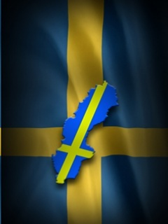 Sweden Flag Mobile Wallpaper