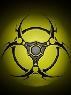 Toxic Yellow Mobile Wallpaper