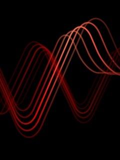 5800 Soundwaves Mobile Wallpaper