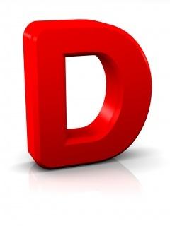 Alphabet D Mobile Wallpaper
