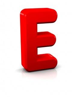 Alphabet E Mobile Wallpaper