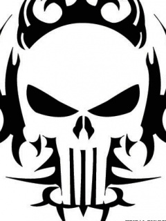 Punisher Skull Mobile Wallpaper