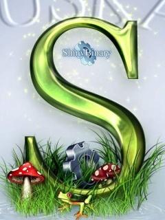 S Logo Mobile Wallpaper