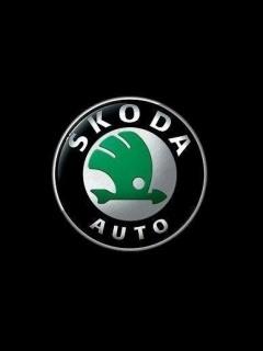 Skoda Logo Mobile Wallpaper