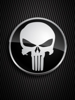 Skull Logo Mobile Wallpaper