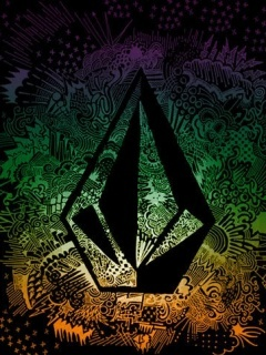 Volcom Logo Mobile Wallpaper