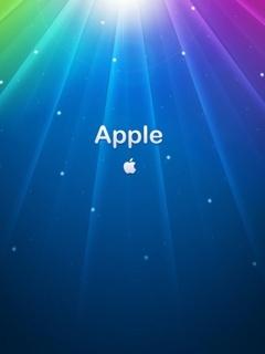 Aurora Colors Apple Mobile Wallpaper