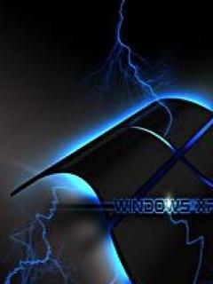 Black Windows Xp Mobile Wallpaper