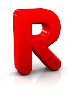 Alphabet R Mobile Wallpaper