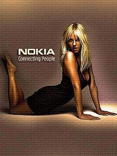 Nokia Girl Mobile Wallpaper