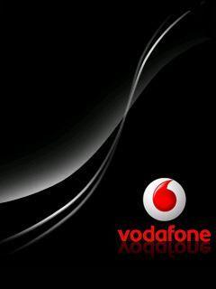 Piano Black Vodafone Mobile Wallpaper