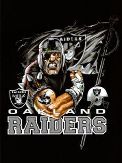 Oaklend Raiders Mobile Wallpaper
