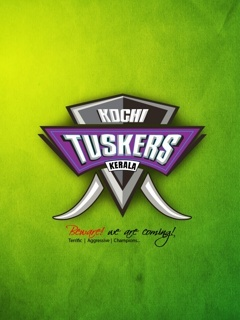 Kochi Tuskers Mobile Wallpaper