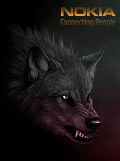 Nokia Wolf Mobile Wallpaper