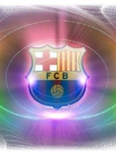 Fcb Logo Mobile Wallpaper
